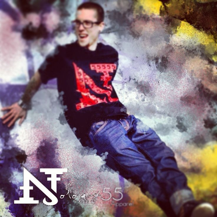 """Nology55 Apparel """"Nside the 55"""" tee"""