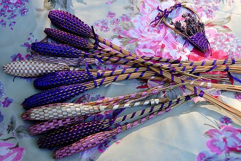Lavender Wands with directions!