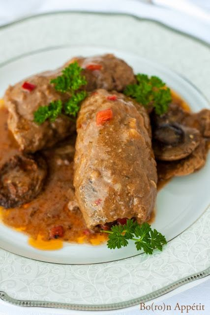 Blog Bo(ro)n Appétit: Rolady wołowe