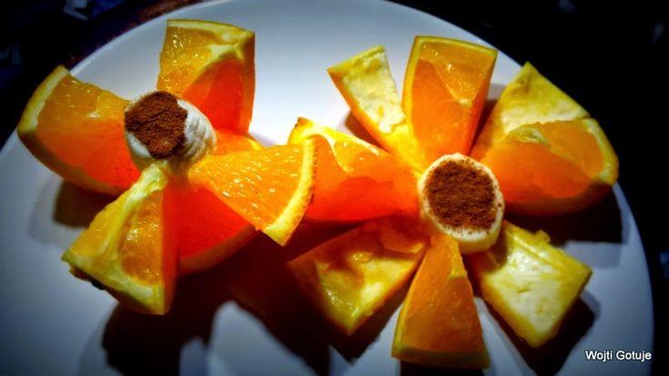 Wojti gotuje czyli 1000 sposobów na szybkie danie : Ozdoby z owoców