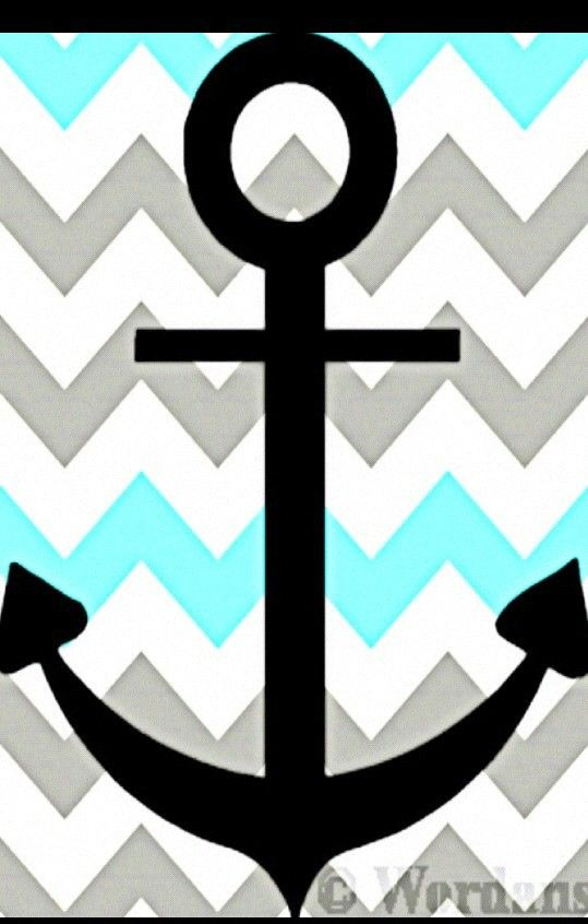 Anchor Chevron Wallpaper Anchor chevron.