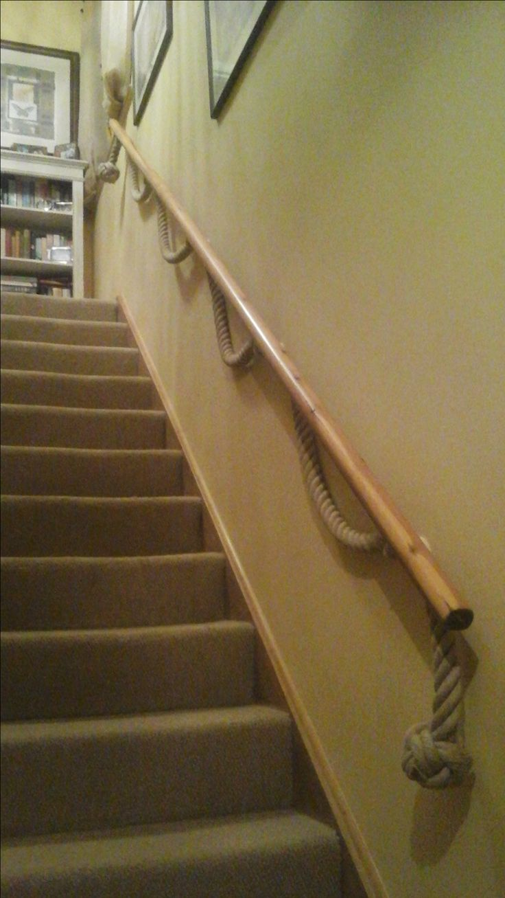 Best 86 Best Rope Banisters For Stairs Images On Pinterest 400 x 300