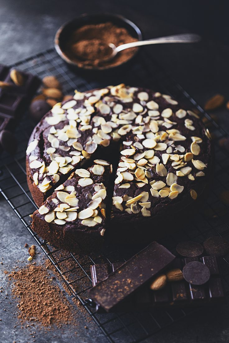 Chocolate and almond cake