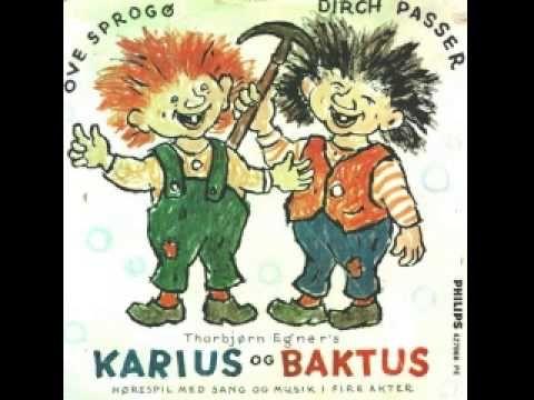 Ove Sprogøe og Dirch Passer - Karius og Baktus - YouTube