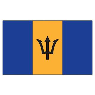 Imagehub: Barbados Flag HD