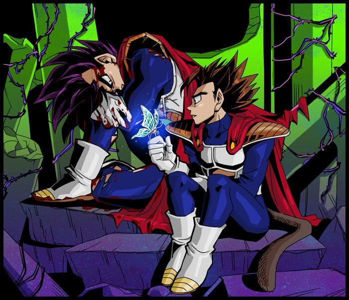 DBZ Vegeta And Tarble Of Course Would Never Be Able To Fight Along Side