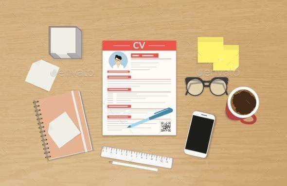 CV Template Presentation - Concepts Business