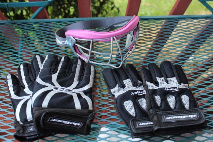 Cascade Lacrosse Pink Protective Eye Wear Goggles Iris 2 pr DeBeer Gloves Tropic #DeBeerCascade