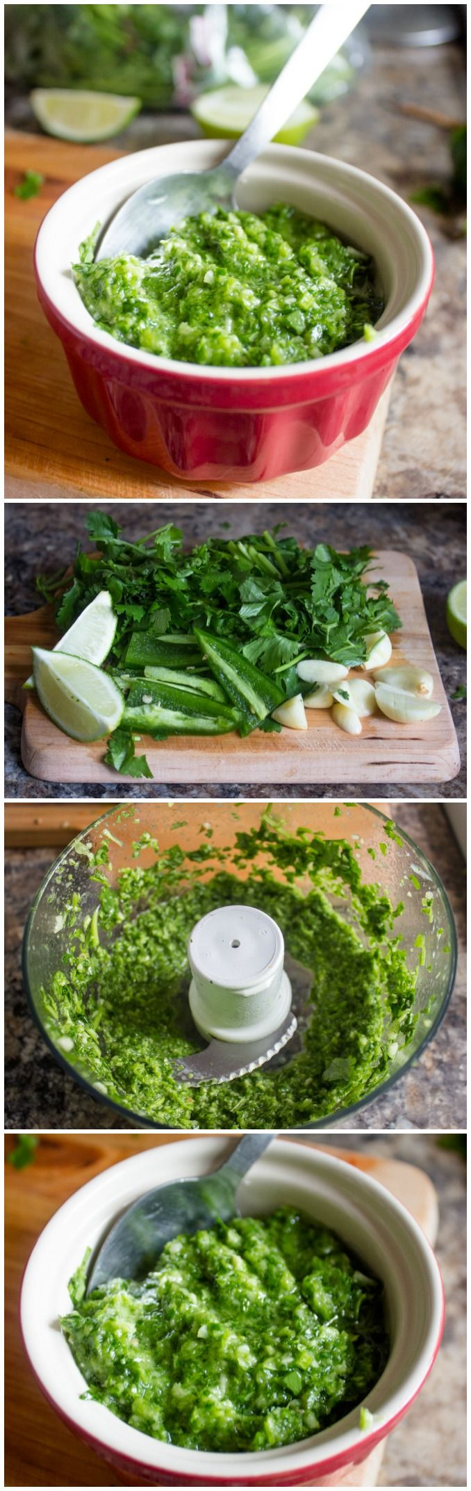 Quick and Easy Cilantro Lime Marinade