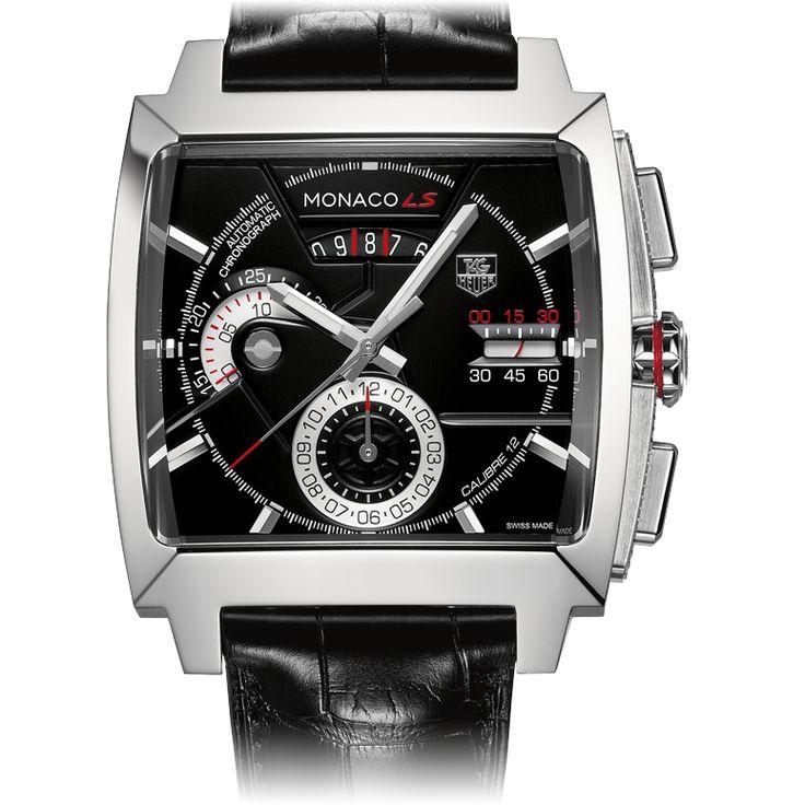 TAG Heuer MONACO Chronographe Automatique Calibre 12 LS40,5 mm                                                                                                                                                                                 Plus