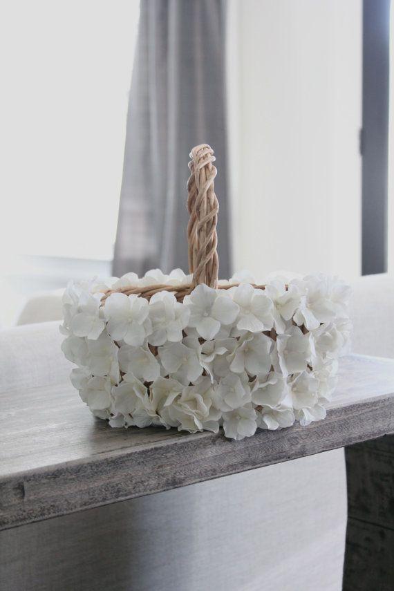 Vintage flower girl basket wedding basket ring by MirelaOlariu, $58.00
