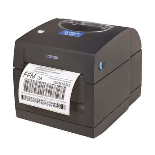Direct Thermal Printing Technology   Hi-Open™ housing for easy media loading   Self-contained mechanism for durable operation   Compact design   Single button control panel   Built-in power supply, 220-240V, 50-60Hz   Fixed label sensor   Standard tear
