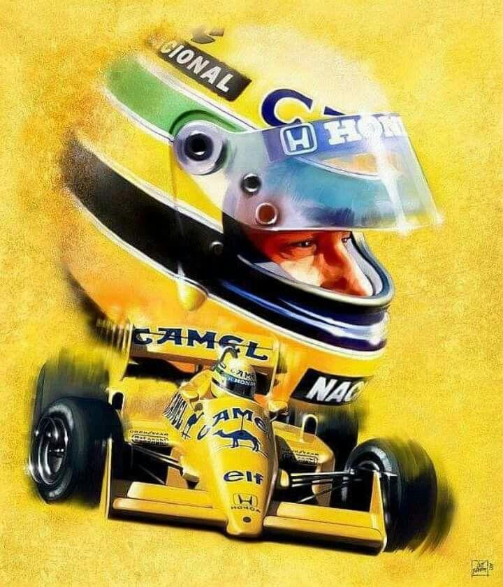 ₩ Ayrton Senna do BRASIL ₩