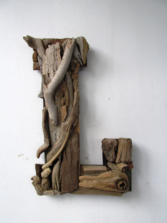 Large Custom Driftwood LettersCoastal Home by PeaceLoveDriftwood