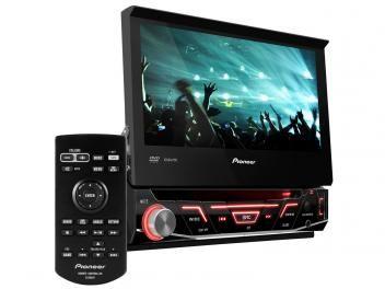 DVD Automotivo Pioneer AVH-3880DVD Tela 7 - Retrátil Touch 92 Watts RMS Entradas Câmera de Ré de R$ 1.199,00 por R$ 789,90 em até 10x de R$ 78,99 sem juros no cartão de crédito