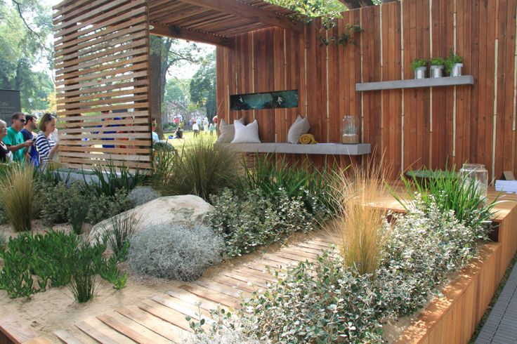 'Peninsula' by James Ross Landscape Design at the Melbourne International Garden Show 2014. Photo by Janna Schreier