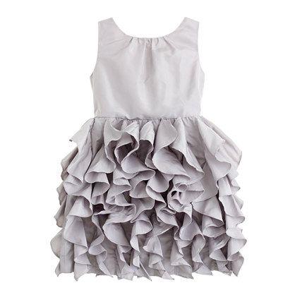 Girls' taffeta Lyla dress