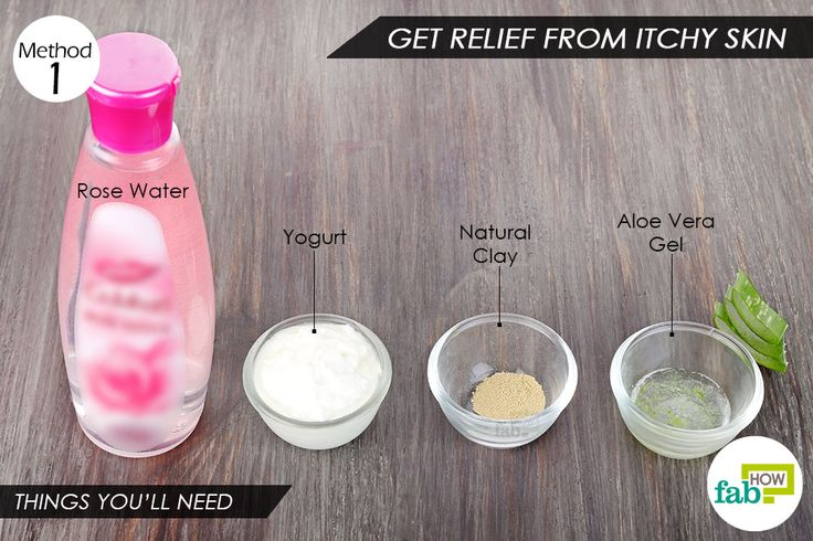 Things you'll need to use yogurt for hair and skin itching