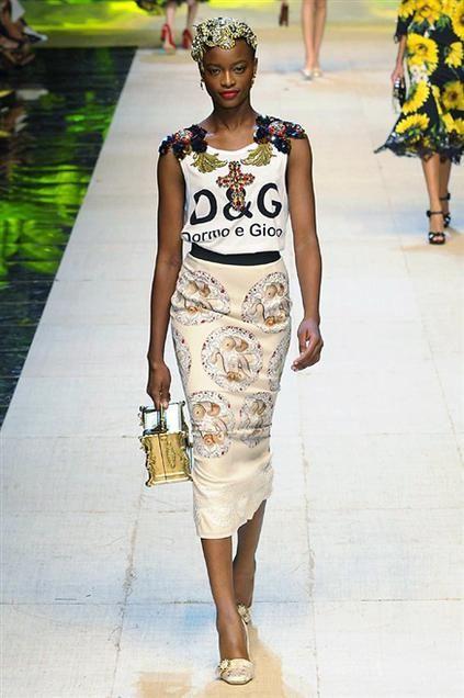 Sfilata Dolce & Gabbana - Primavera-Estate 2017 - Milano - Moda - Elle
