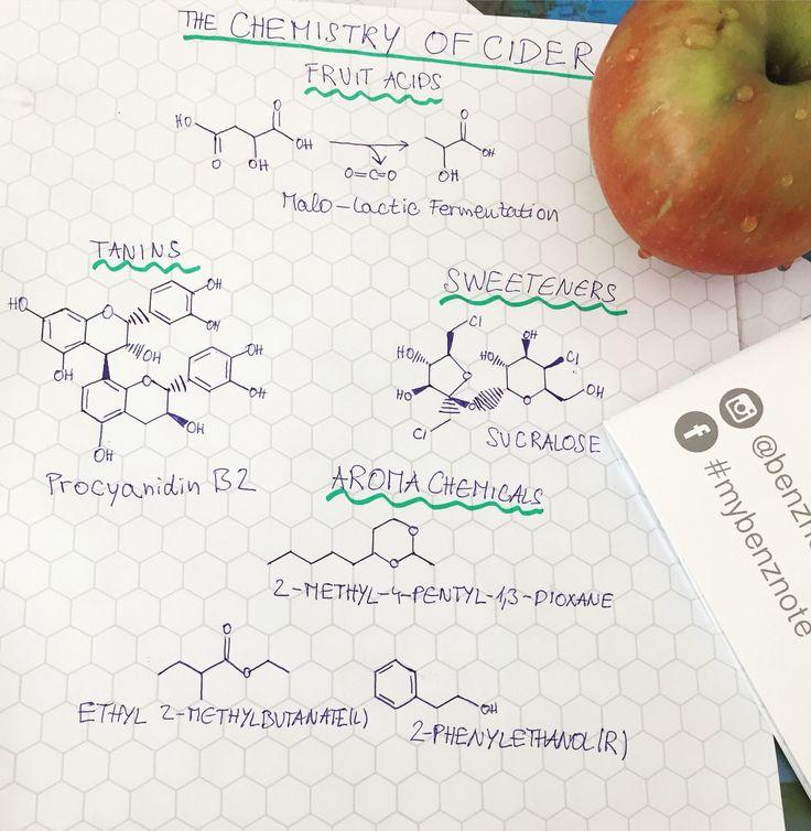 #cider #chemistry #mybenznote