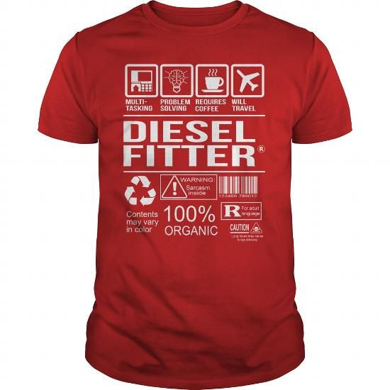Awesome Tee For Diesel Fitter #sunfrogshirt