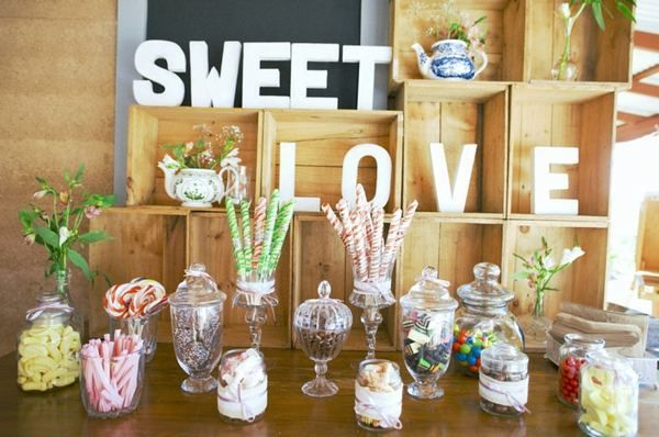 #wedding #candy bar #bar à bonbons