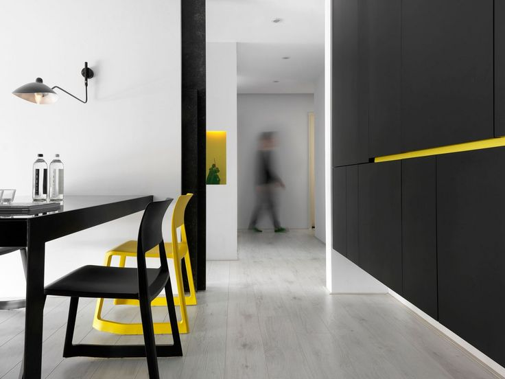 Z-AXIS DESIGN, Тайчжун, Тайвань, Modern Chic, интерьер минимализм, яркие…