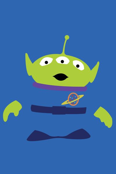 Toy Story Alien Art Print