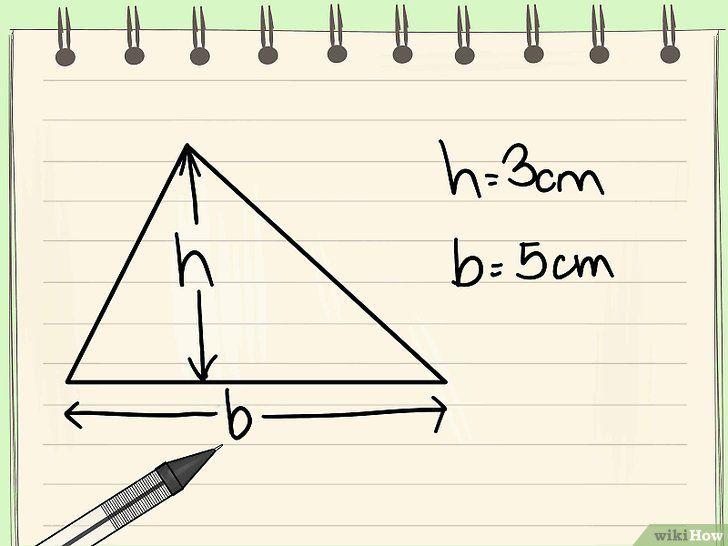 Calcular El Area De Un Triangulo Calculo