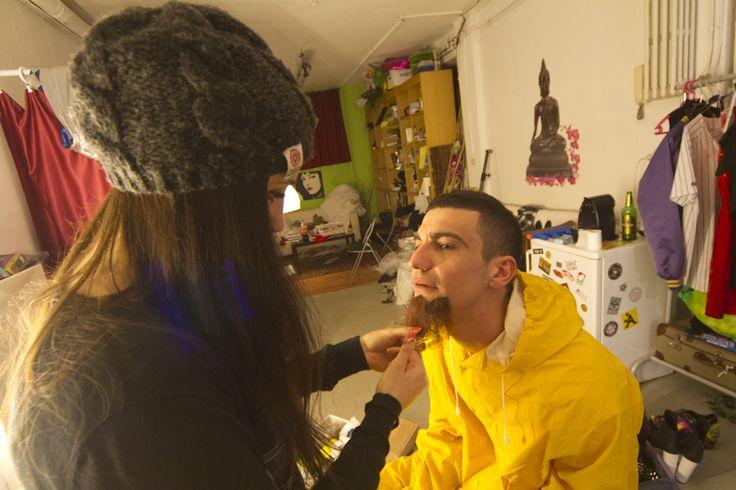 #music #video #jesto #regia #rebus #makeup Giada Gilardoni #december 2013