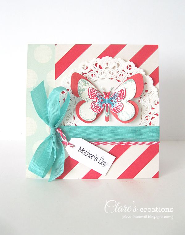 Clare's creations: Cardmaking and Papercraft Magazine (UK) issue 127