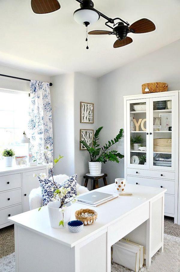 nice Home Office einrichten und dekorieren modern ideen IKEA ideas