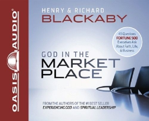 God in the Marketplace By Dr. Henry Blackaby CD