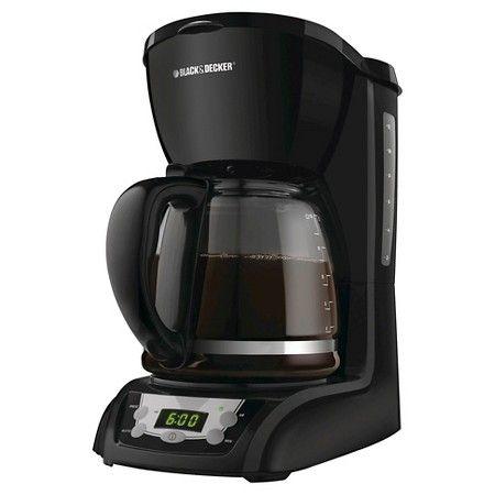 BLACK + DECKER Auto Drip Coffee Maker : Target