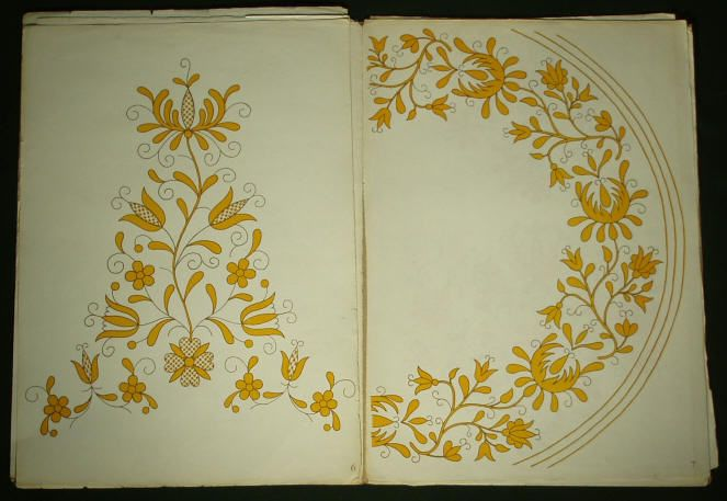 Polish Hand Embroidery Pattern