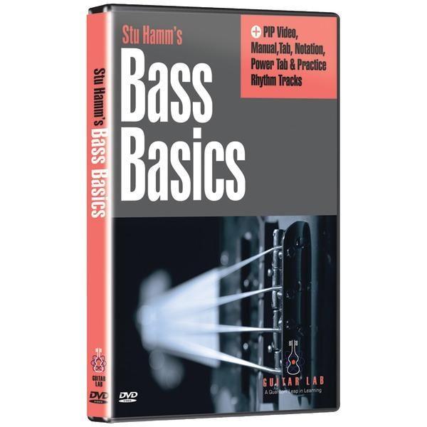 Guitar Lab TF10116 Stu Hamm U: Bass Basics, 2-DVD Set