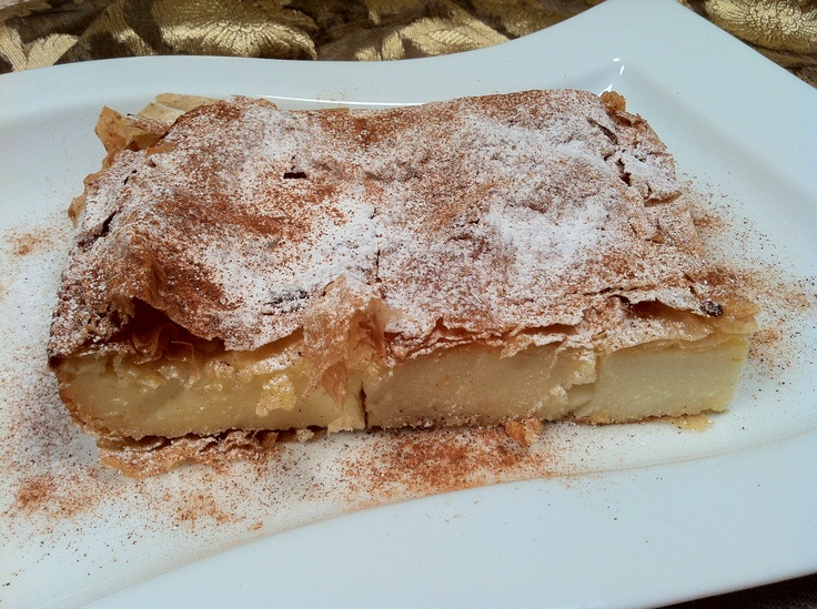 Haven't you tasted yet? Only in Greece... Bougatsa!