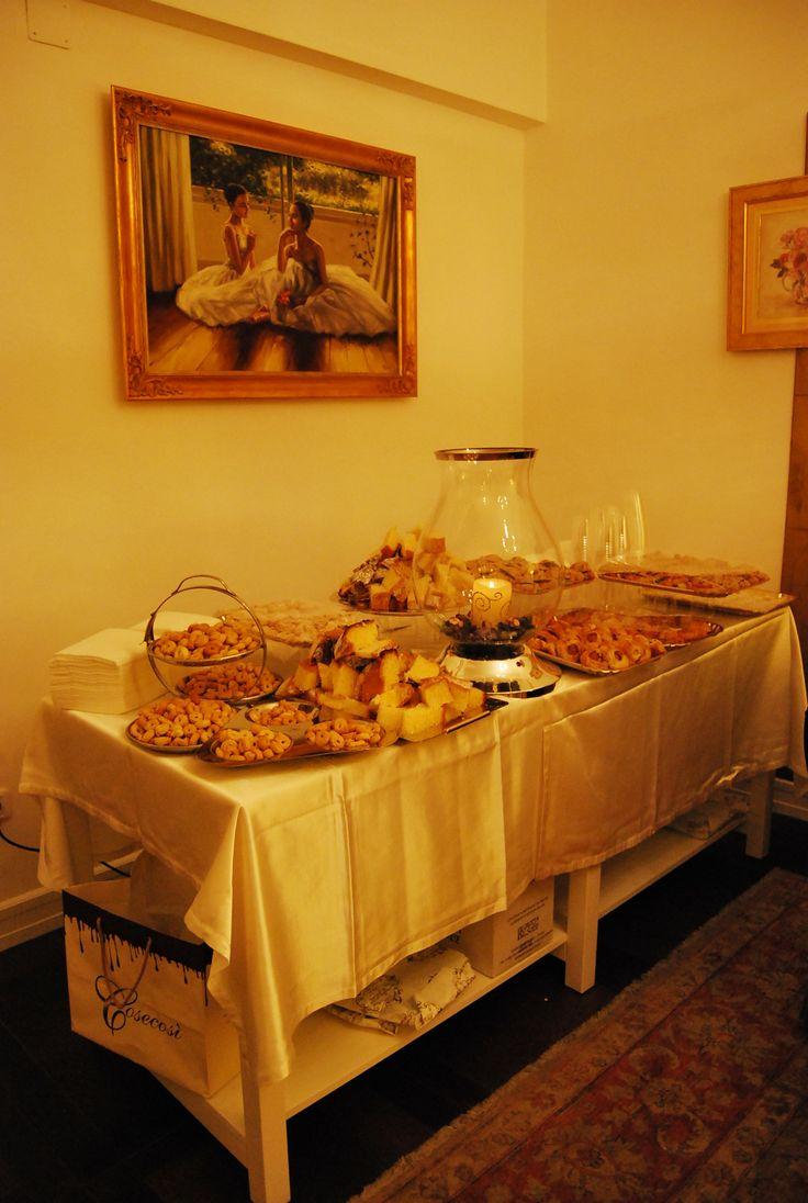 Buffet di benvenuto Welcome cocktail