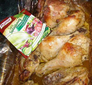 W Mojej Kuchni Lubię.. : kurczak pieczony w rękawie w pysznej marynacie z k...