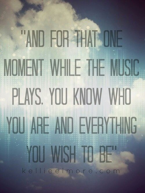 Music makes you who you are