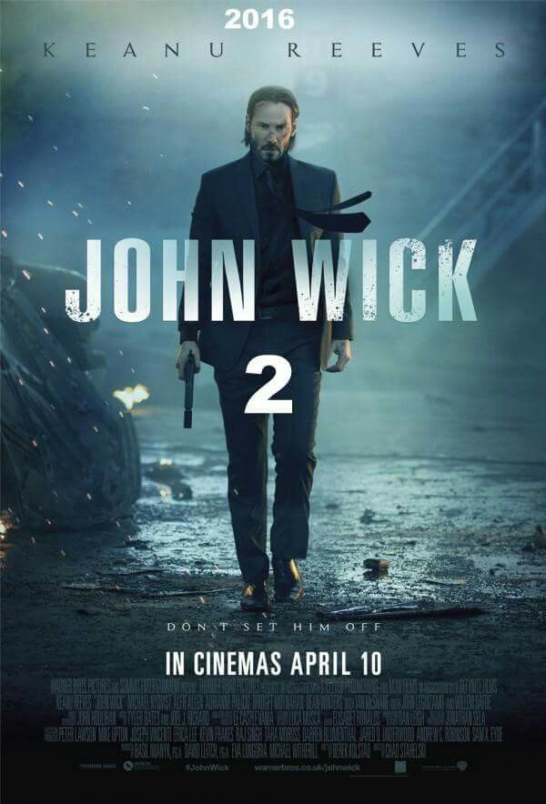 John Wick 2 movie poster                                                       …