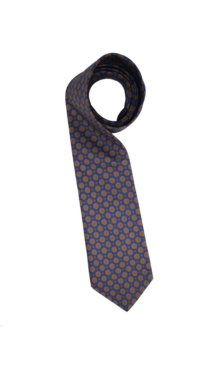 vintage silk tie from Guichard. Made in Italy, pure silk.