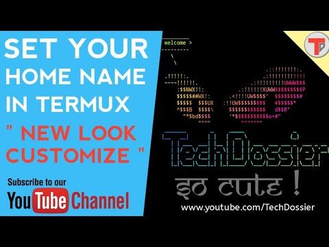 Termux 18: New Termux Home customize | Termux Banner | Tamil