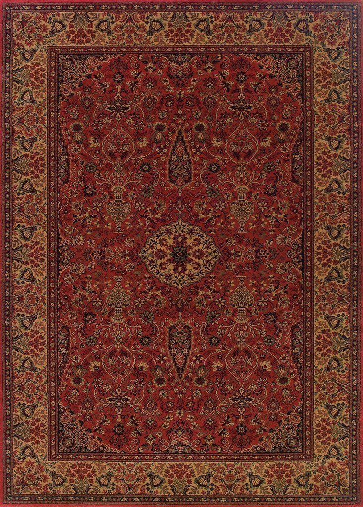 Couristan Everest Ardebil Crimson Area Rug Couristan Rugs Rugs On Carpet Area Rugs
