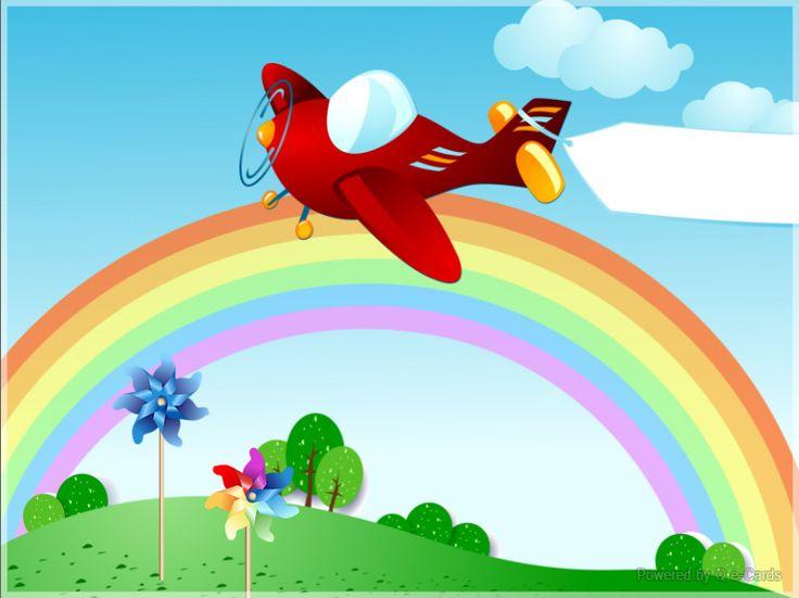 Birthday eCard – Flying Text