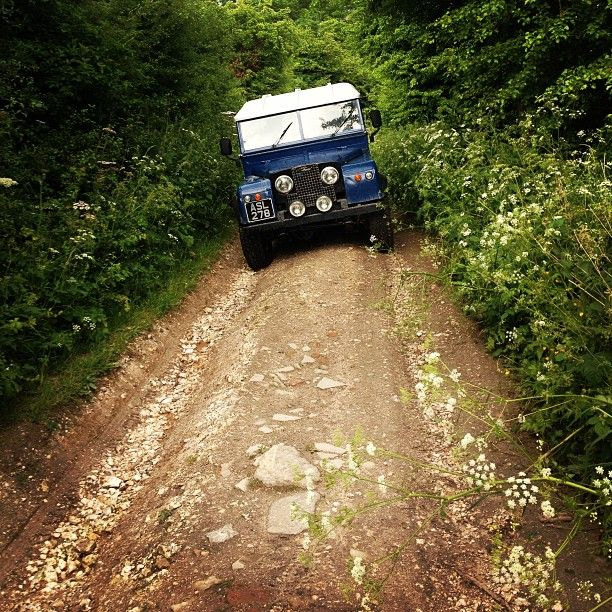 Green Laning In My Series 1 Land Rover All Landys On A