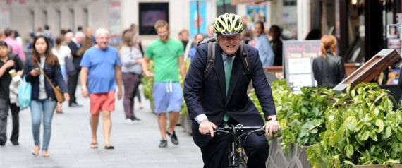 Boris Johnson Apologises For Giving His Barrister Wife A 'Backie' On His Bike