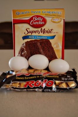easy Rolo Cake Mix Cookies - for you Jennifer