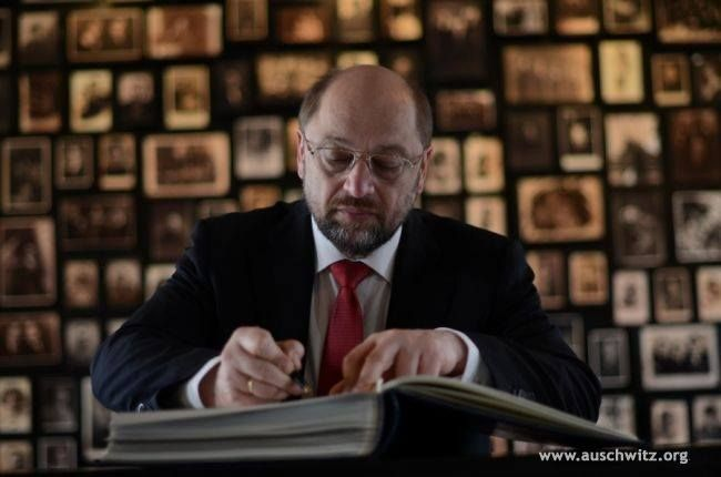 On 20 April, the President of the European Parliament, Martin Schulz visited the site of the former German Nazi concentration and extermination camp Auschwitz-Birkenau. The guest was guided around the Memorial Site by the deputy director of the Museum, Andrzej Kacorzyk.  More: http://en.auschwitz.org/m/index.php?option=com_content&task=view&id=1099&Itemid=7