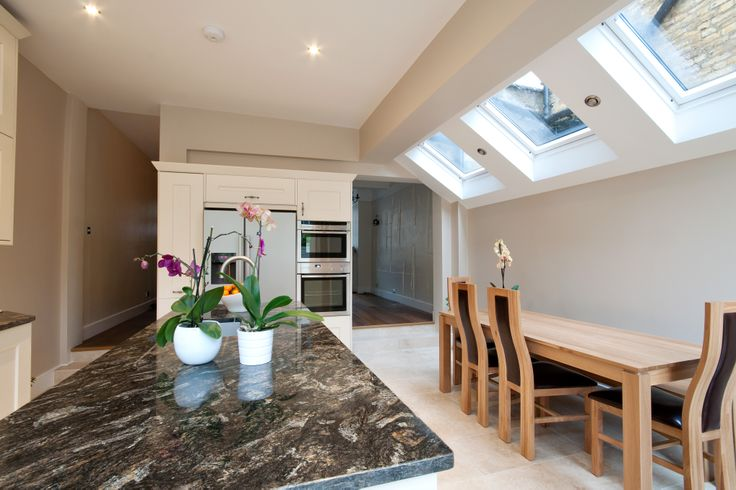 Side return extension in Chiswick